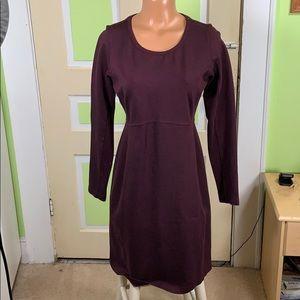 Duluth Trading company burgundy dress small